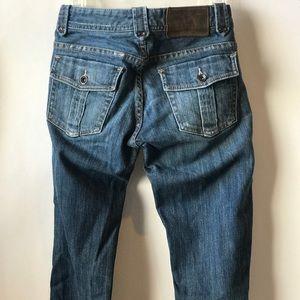AIX Armani Exchange Straight Leg Pocket Jeans